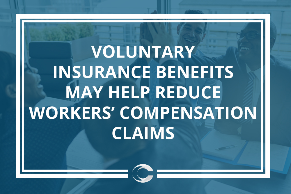 Voluntary insurance benefits may help reduce workers' compensation claims